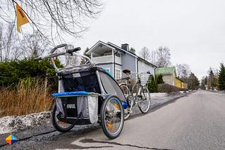 Pelago Airisto + Thule Chariot 2   by HendrikMorkel