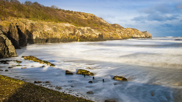 The Cove at Sandsend