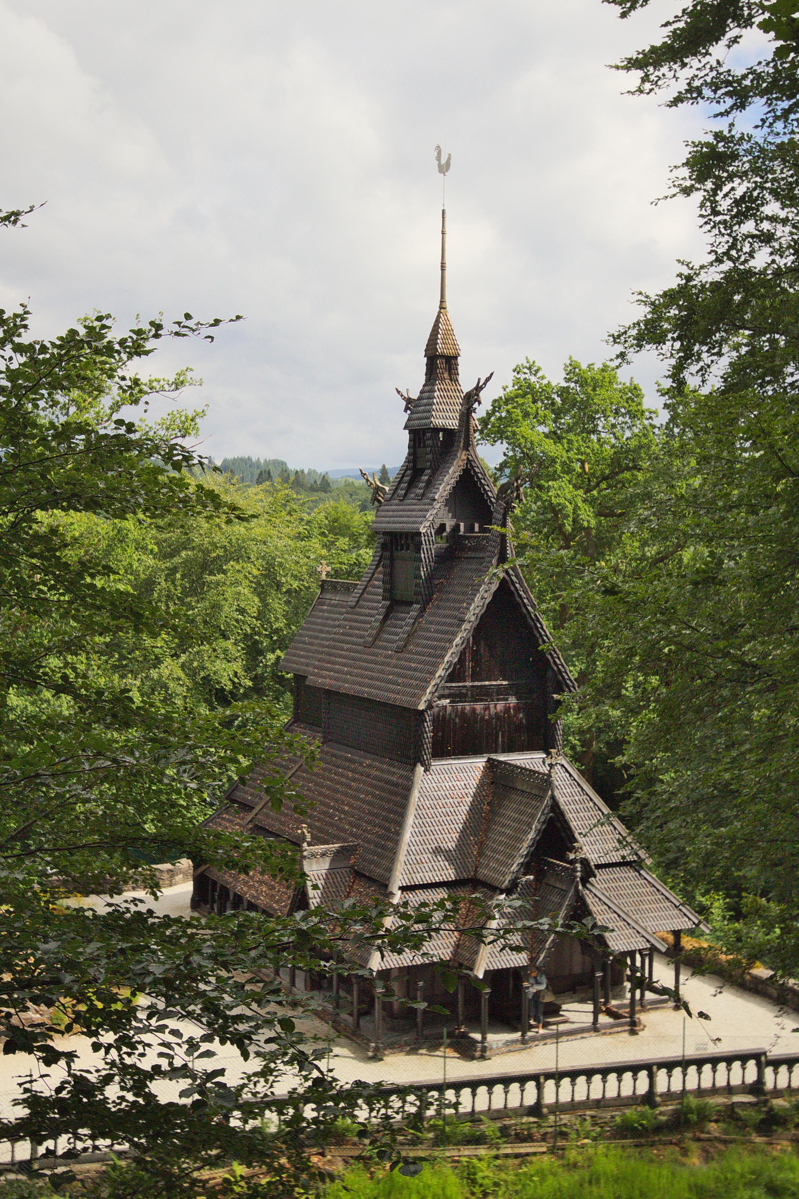 Fantoft Stave Church, Norway, 2018
