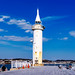 Shonan harbor lighthouse in Enoshima Island, Fujisawa : 湘南港灯台(藤沢市江の島)