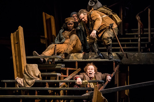 Joy Dolo, Becca Hart, Reed Sigmund, and Dean Holt in 'The Hobbit'. From The Hobbit Onstage: A Magical World Premiere at Children's Theatre Company