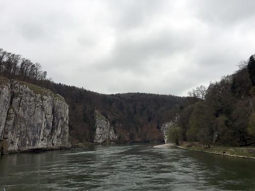 15 - Donaudurchbruch - Donaufahrt zum Kloster Weltenburg