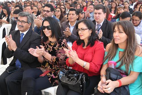 HOMENAJE EL MAGISTERIO ECUATORIANO. QUITO, 10 DE ABRIL DEL 2019