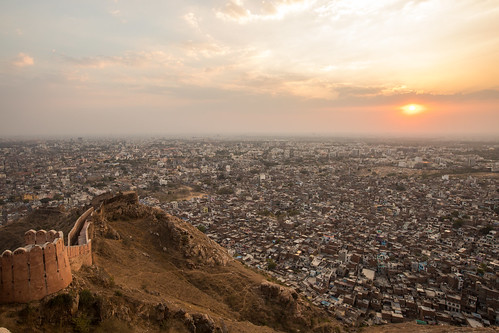 Sunset Over the Pink City, India | by Geraint Rowland Photography