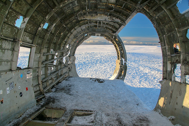 US Navy Douglas Super DC3 Plane Wreck