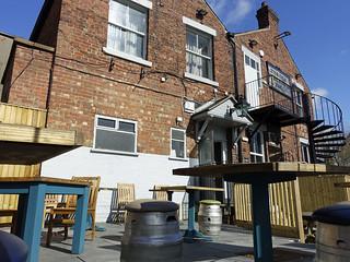 Beer garden, rear of The Black Bull, Friargate, Preston | by 70023venus2009