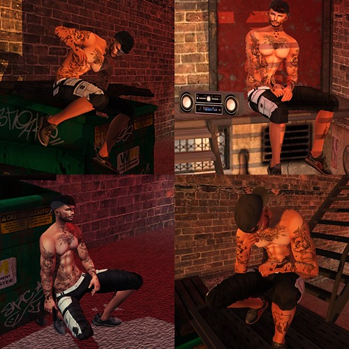 SuBLiMe PoSeS – Urban Set