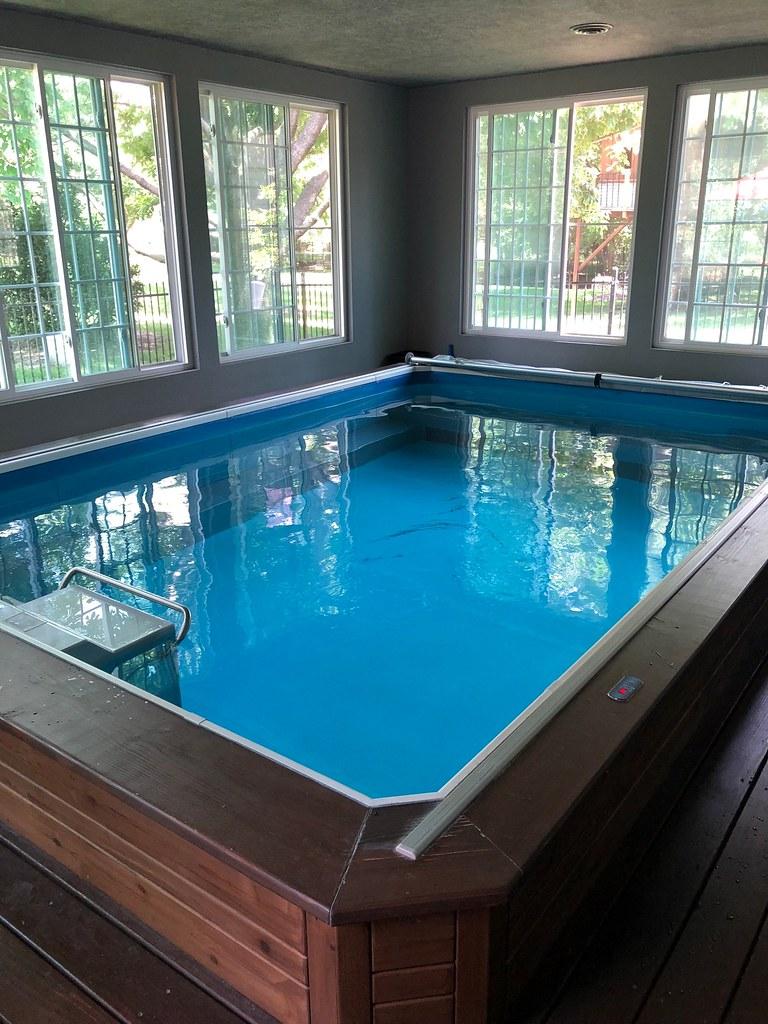 Original Endless Pool in Wichita, KS   The modular design le ...