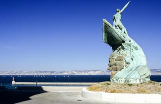 Marseille, Near Palais du Pharo