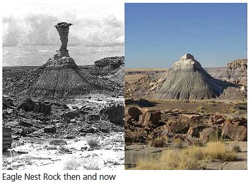 Eagle Nest Rock Now and Then
