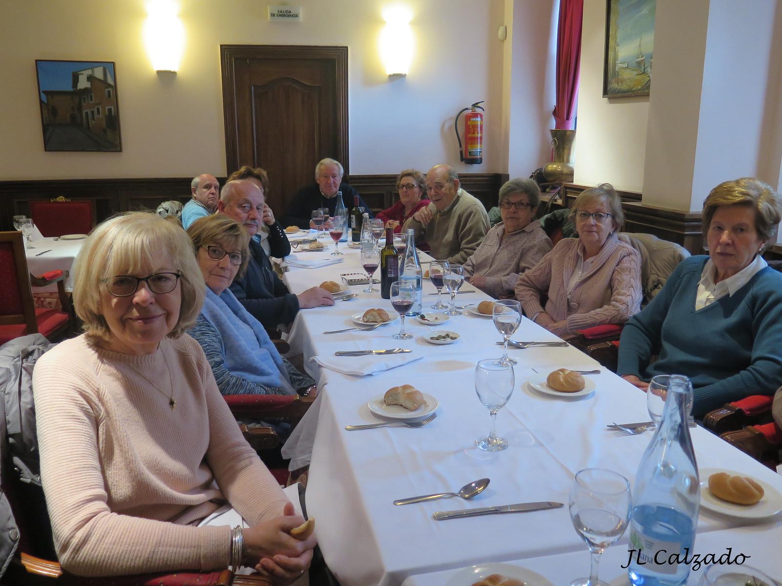 En el restaurante Miranda&Suizo