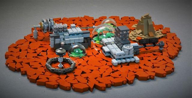 Outpost Beta - on Epsilon IV