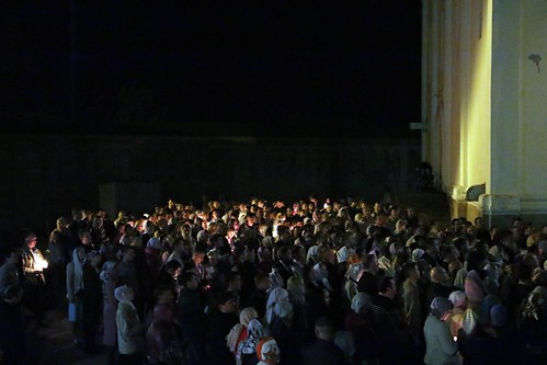 Пасхальное Богослужение в Свято-Никольском храме станицы Кавказской IMG_1248