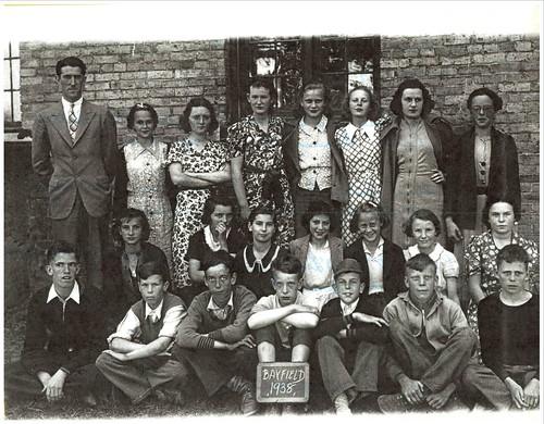 PB17 11A Photo of classmates Sr. room 1938 Brenton Hellyer | by Bayfield Breeze