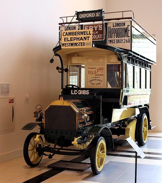 1904 Milnes-Daimler dubbeldeksbus