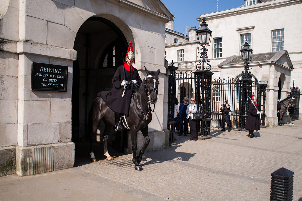 The Household Cavalry, London
