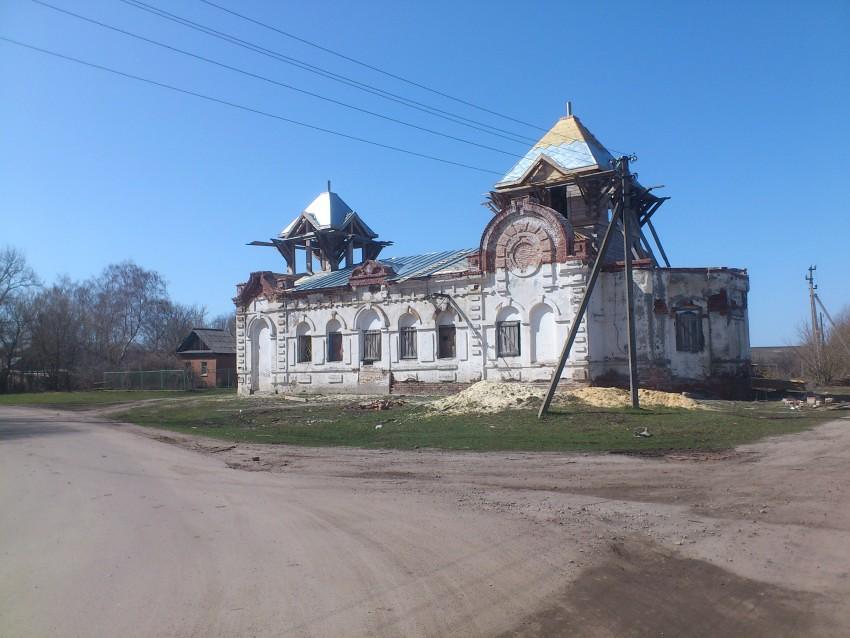 Храм Св. Аллы в Старой Потловке Колышлейского района Пензенской области