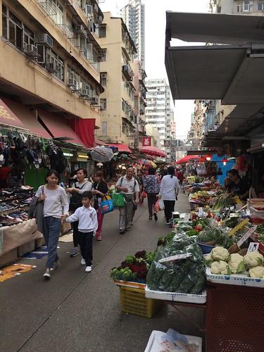 Mongkok Market. From Travel to Asia: A new understanding–Hong Kong