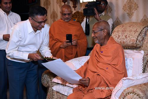 Std-10-11-12-visit-to-Haridham-for-Swamishree's-Blessings-(14) | by Atmiya Vidya Mandir