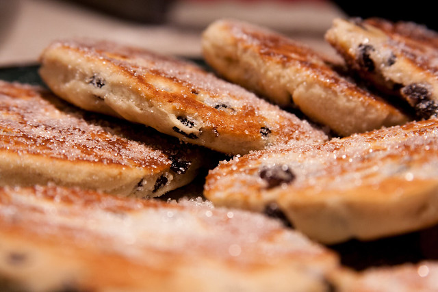 Stack of Welsh Cakes