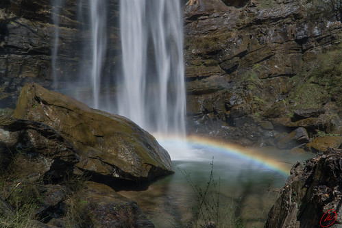 landscape landscapephotography water waterfall georgia rainbow toccoafalls toccoafallscollege toccoafallsga rocks mountains