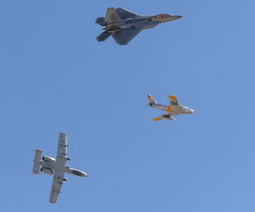 A-10 and F-22 Breakaway