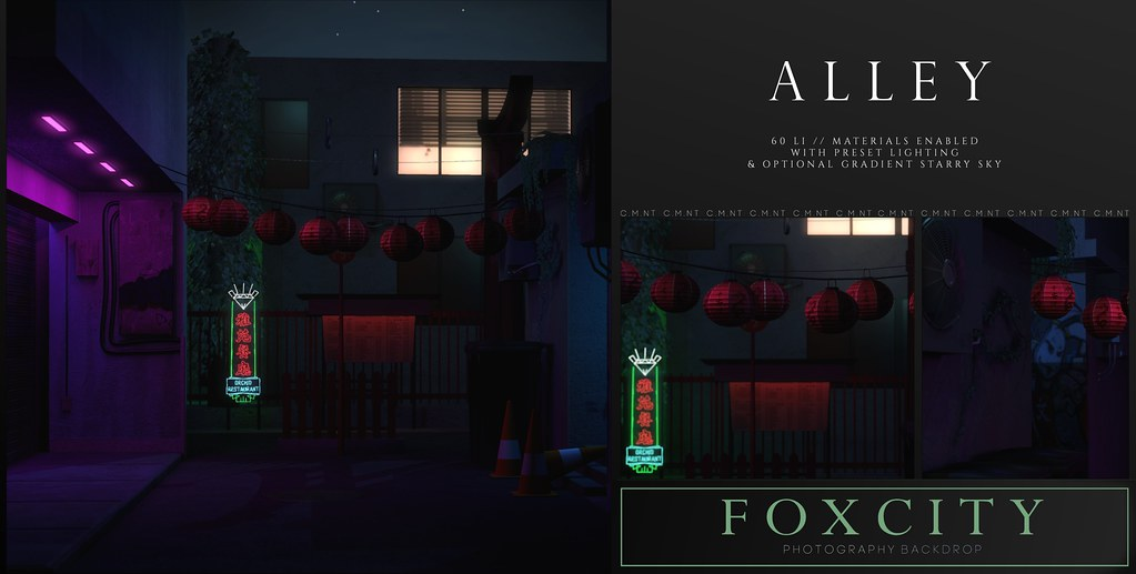 FOXCITY. Photo Booth – Alley