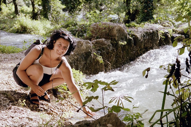 Alex near Krka Falls