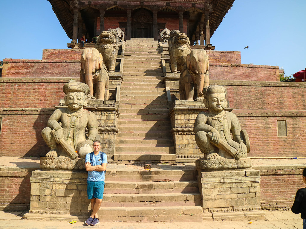 Templo Nyatapola en Bhaktapur