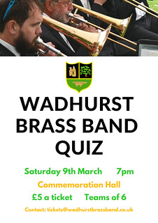 Band Quiz Poster | by Wadhurst Brass Band