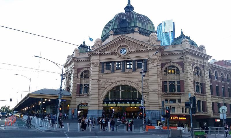 Flinders Street Station, February 2019