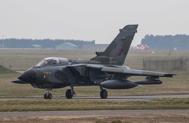 EGYM - Panavia Tornado GR4 - Royal Air Force - ZG752