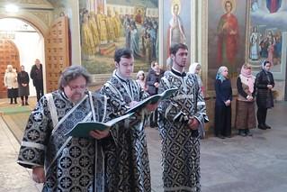 26.03.2019 | Литургия Преждеосвященных Даров в Иверском монастыре