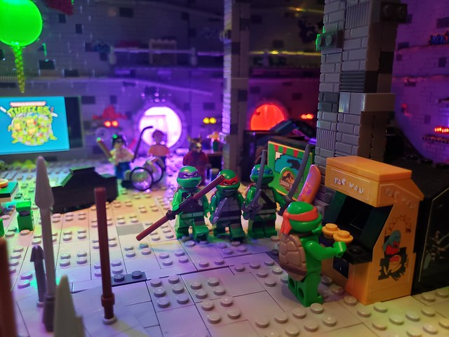 Teenage Mutant Ninja Turtle Sewer Lair