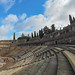 The seating at the Roman Theatre of Merida were divided into the Ima, Media and Suma Cavea Zones