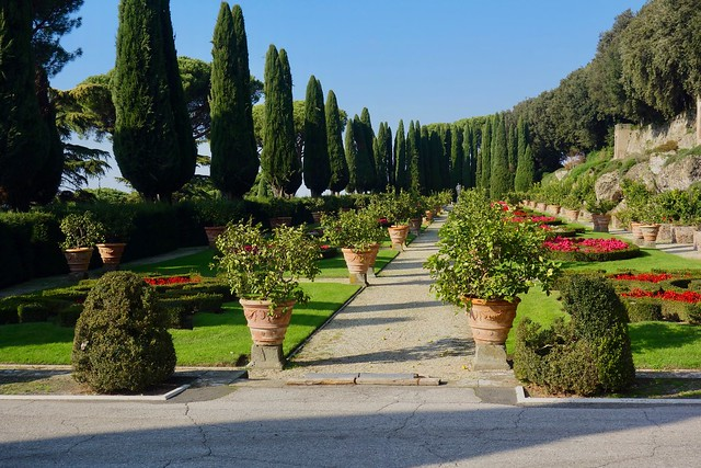Villa Barberini Pontifical Gardens, Castel Gandolfo