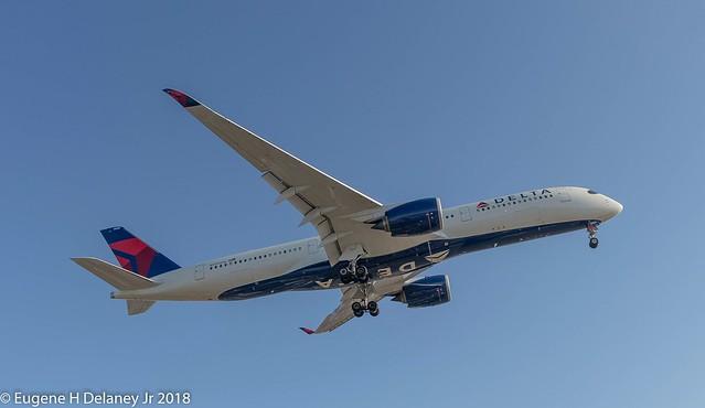 Delta Air Lines Inc, N506DN, 2017 Airbus A350-941, MSN 175, FN 3506