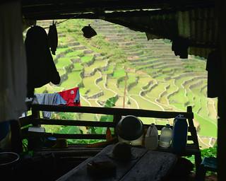 7. Ventana con vistas a las terrazas de Batad | by Diario de un Mentiroso