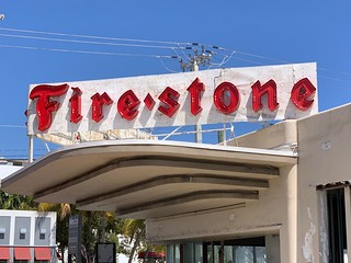 Firestone Sign Has Been Repaired | by Phillip Pessar