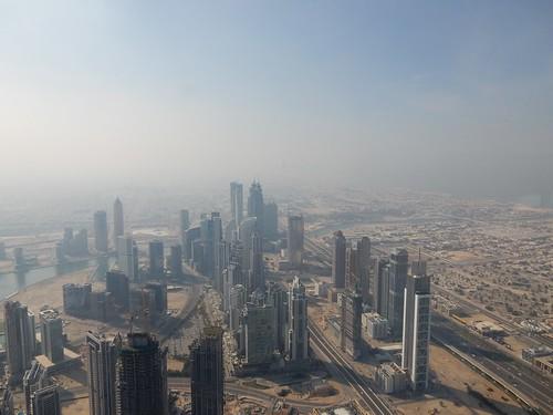 Dubai - vanaf Burj Khalif - 148th floor - 5