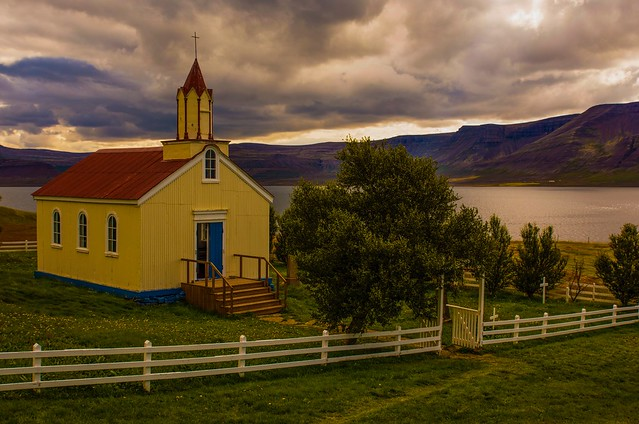 Little church in Iceland
