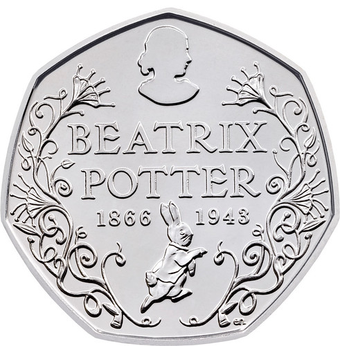 Beatrix Potter coin | by Numismatic Bibliomania Society
