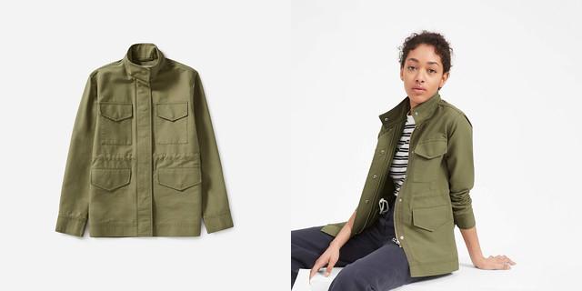 everlane modern utility jacket