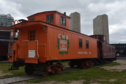 Toronto Historical Railway museum, Roundhouse Park | by luckypenguin