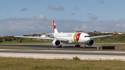 TAP A330-900NEO just arrived at Lisbon airport | by Nicky Boogaard