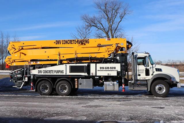 DMV Concrete Pumping Misc. LLC Truck