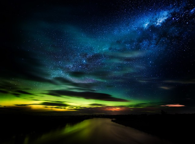Stars in New Zealand