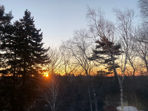 Nova Scotia sunrise   by brownpau