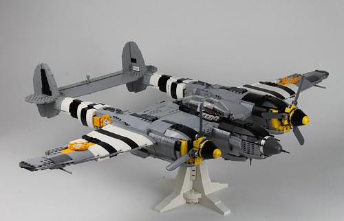 Lockheed P-38 by Peter Blackert