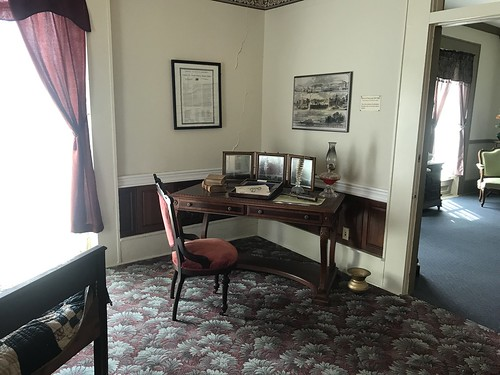 On the way to Evansville, Indiana, yesterday, I had a chance for a special tour of the Tilghman House in Paducah, Kentucky. Thanks to Bill Baxter for giving me a great exploration of the home! https://steller.co/s/9H2xhAd47Aw #civilwar